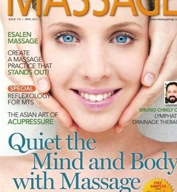Massage Magazine April 2011